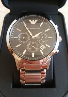 Emporio Armani Classic - Chronograph - Men's watch - 2017