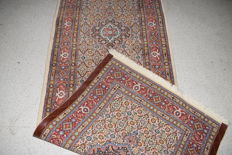 Persian carpet Moud with silk - 20th century, around 1980 - 200 x 82 cm