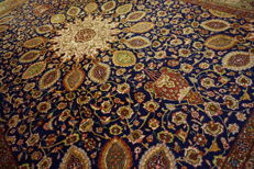 *Semi-antique * Persian carpet *made in Iran *Art Nouveau carpet *Tabriz Province *290x395 cm *with patina