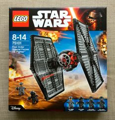 Lego - Star Wars - 75101 - First order special forces Tie Fighter - (2015)