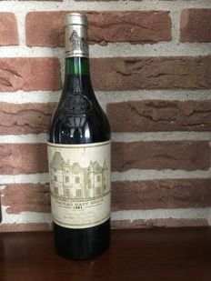 1981 Chateau Haut Brion, Premier Grand Cru Classé, 1 bottle