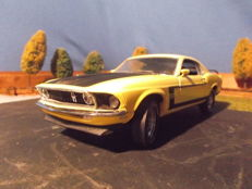 Franklin Mint - Scale 1/24 - 1969 Ford Mustang Fastback Boss 302