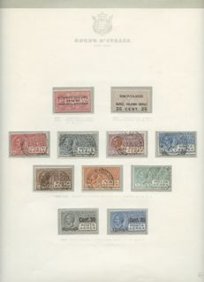 Kingdom of Italy, 1863/1945 - Collection of services and part from the Social Republic