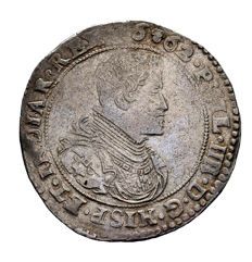 Spain - Spanish Basque Country - Felipe IV (1621-1665) - Silver ducatón - 32.72 g, 44 mm - Antwerp (Brabant) - 1662