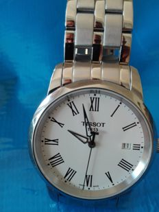 Tissot Classic Dream stainless steel men's wristwatch 2016 – never worn – with boxes and papers