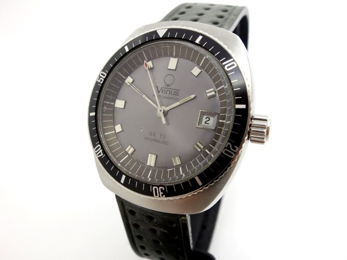 Venüs Automatic Diver - Vintage Men's WristWatch - 1960's
