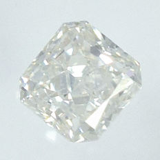 0.15 ct Diamond in Square Radiant Cut, H, SI1 – No Reserve Price