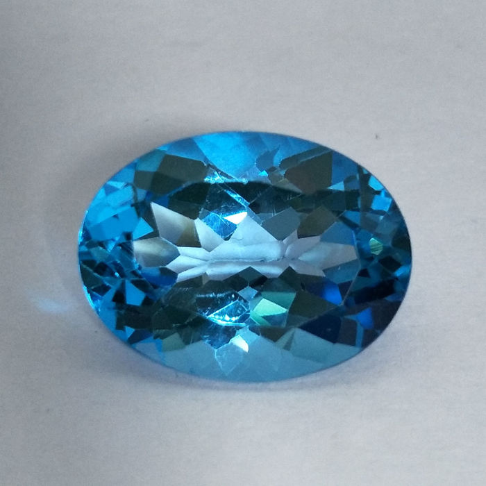 Swiss Blue Topaz - 11.52 ct