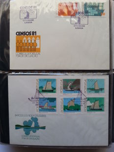 Portugal 1981/1989 - 200 Envelopes of 1st Day in album.