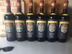 Brunello di Montalcino Fattoria dei Barbi x 1 bottle on each following vintage: 1989 / 1992 / 1993 / 1995 / 1997 / 1998/ 2003 - 7 bottles in total