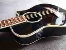 Motion Traveller guitar; electro-acoustic with B-band equaliser
