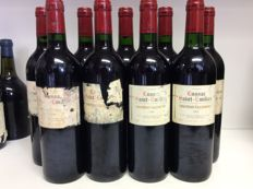 1996 Chateau La Claymore, Lussac-Saint-Emilion, France , 9 bottles 0,75l