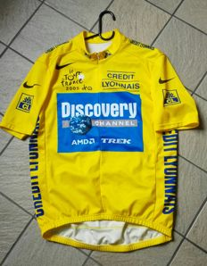 Yellow jersey Lance Armstrong Tour De France 2005