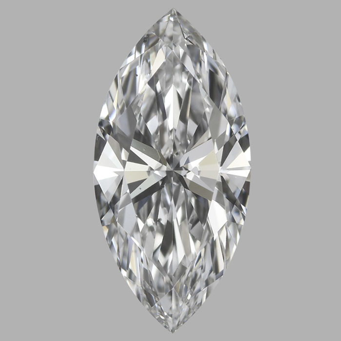 Marquise Brilliant   0.56ct  D VS2- GIA  -Original Image# 2023