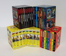 Tex, Diabolik, Topolino, I mitici numeri 1 - 5x editorial slipcases of comic mini-books