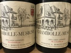 1991 Chambolle Musigny, Domaine Roblot-Marchand  -  Total 5 Bottles