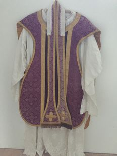 Priest robe with embroidery