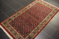 Oriental carpet Indo Bidjar 90X170cm Made in India in very good condition