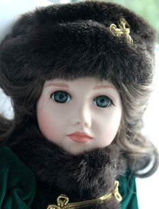 Artist doll Anna Katharina by Janet Johnson