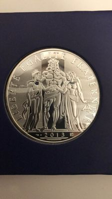 France – €100 Hercules year 2013, very good condition – Silver