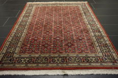 Oriental carpet Indo Bidjar 120 x 190 cm made in India in very good condition