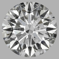 1.03ct Round Brilliant   E VS2  GIA  EXEXEX   -Original image-serial  #AS8