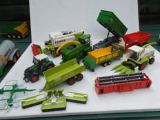 Siku - Scale 1/32 - Lot with 20 agricultural machines