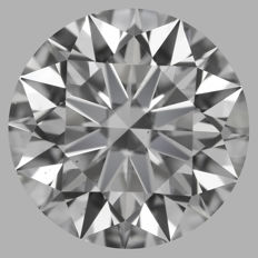 1.01ct Round Brilliant   G VS2  GIA  EXEXEX   -Original image-serial  #AS13