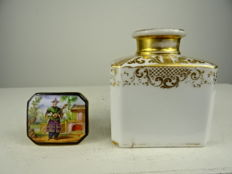 Porcelaine de Paris - tea jar