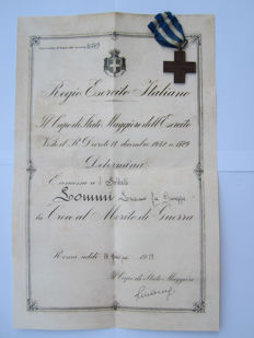 World War 1 Merit award and cross