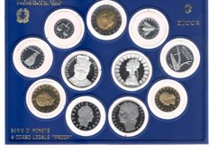 "Republic of Italy – Divisional Series Proof 1988 ""Don Bosco"" (including silver)"