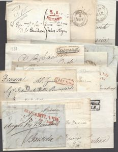 Italy 1807/1848 - Small lot of prephilatelic letters