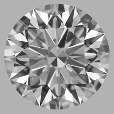 1.01ct Round Brilliant   F VS1  GIA  EXEXEX   -Original image-serial  #AS9