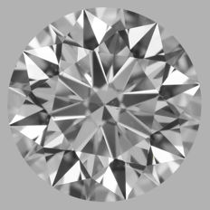 1.35ct Round Brilliant   D VS2  GIA  EXEXEX   -Original image-serial  #AS15