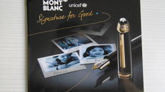 Meisterstuck Le Grand  Mechanical Pencil. Unicef.
