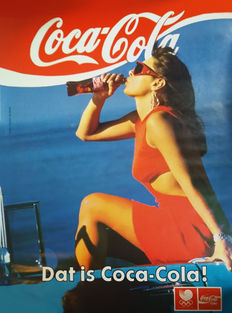 Anonymous - 2 Coca Cola-affiches - jaren 90/00