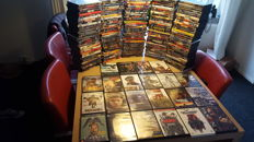DVD collectie ca. 200 films /dvd's