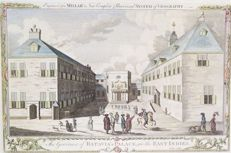 Indonesië, Djakarta; Millar / Hogg - The Governor of Batavia´s Palace, in the East Indies - 1775