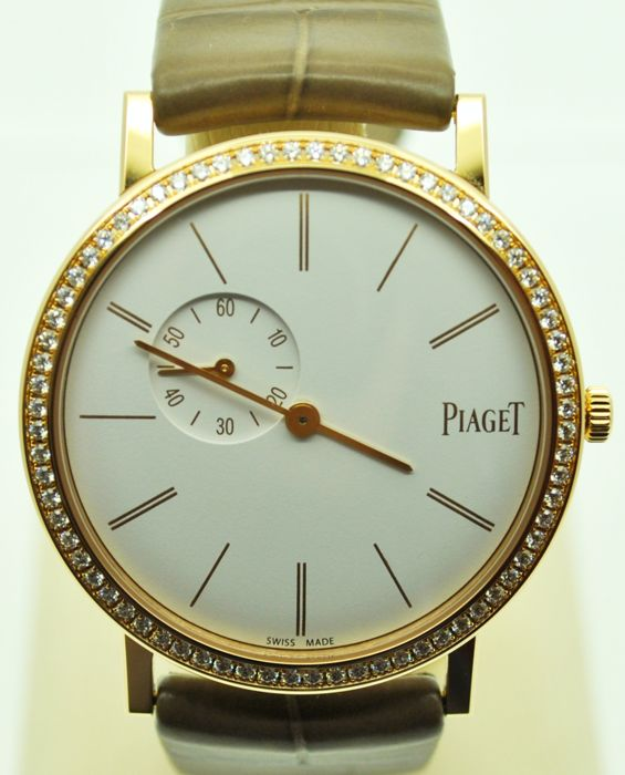 Piaget Altiplano Pink Gold with Diamonds - Ladies - New 2017