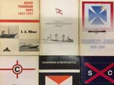 Maritime - Lot with 33 books published by World Ship Society - 1966 / 1985