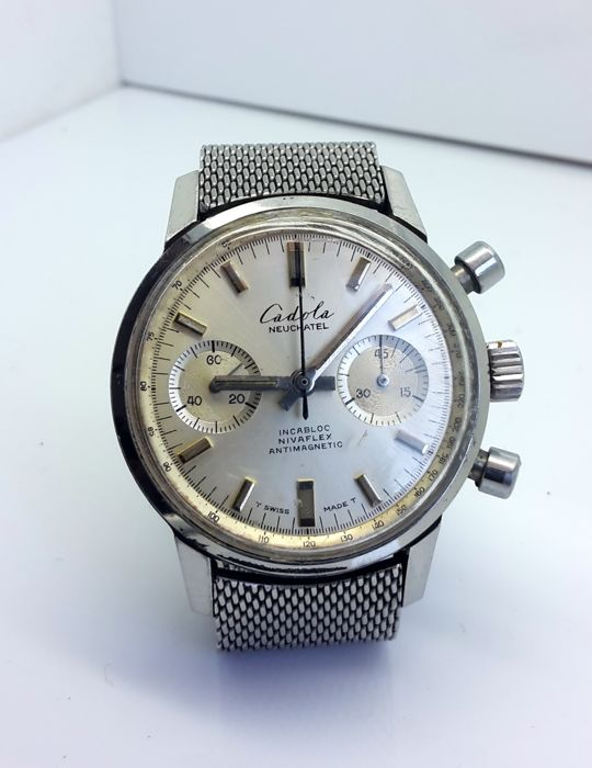 Cadola – Chronograph Neuchatel – Men's Watch – 1970