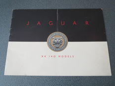 Original brochure: Jaguar XK 140 Models circa 1955