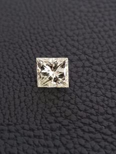 Diamond - 1.56 ct - I Colour VVS2 - Princess - EXC/EXC