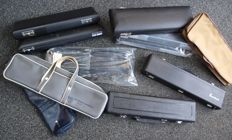 11 new cases for flute and melodica, including Trevor James, Yamaha and Gemeinhardt