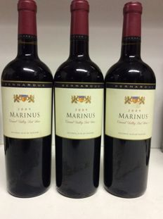 2009 Bernardus 'Marinus Vineyard' Marinus Red, Carmel Valley, USA , 3 bottles 0,75l