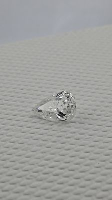 IGL 0.93 d/vs2 carat pear shape natural loose diamond  &  14k gold ring