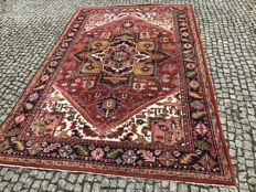 Unique INDO-HERIZ Rug 295x195 cm -hand knotted -