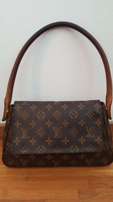 Louis Vuitton- Looping mini Monogram bag.