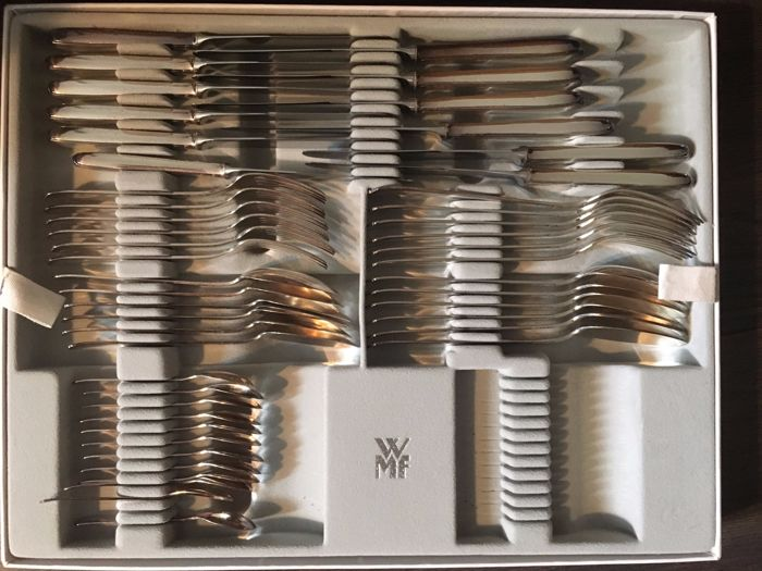 Gero - silver plated cutlery section - Georg Nilsson 6 person