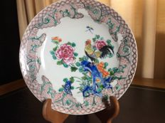 Samson Ceramics - Dish with Chinese decoration